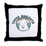 Totes MaGoats Throw Pillow