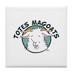 Totes MaGoats Tile Coaster