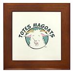 Totes MaGoats Framed Tile