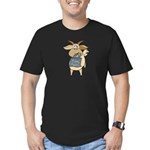Funny Goats - Totes MaGoats Men's Fitted T-Shirt (