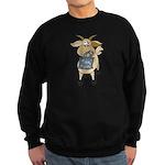 Funny Goats - Totes MaGoats Sweatshirt (dark)