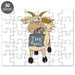 Funny Goats - Totes MaGoats Puzzle