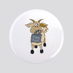 """Funny Goats - Totes MaGoats 3.5"""" Button"""