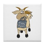 Funny Goats - Totes MaGoats Tile Coaster