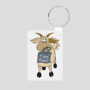 Funny Goats - Totes MaGoats Aluminum Photo Keychai