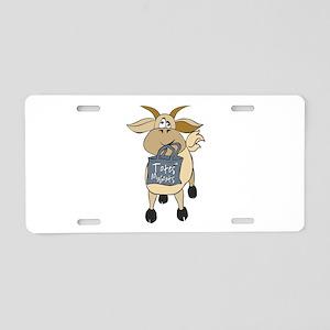 Funny Goats - Totes MaGoats Aluminum License Plate