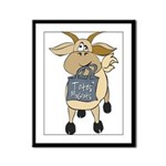 Funny Goats - Totes MaGoats Framed Panel Print
