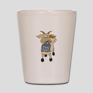 Funny Goats - Totes MaGoats Shot Glass