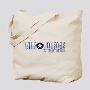 USAF Daughter Tote Bag