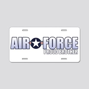 USAF Brother Aluminum License Plate