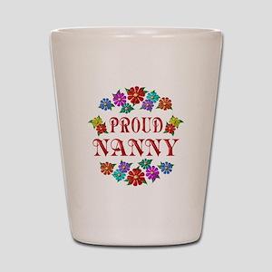 Proud Nanny Shot Glass