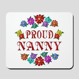 Proud Nanny Mousepad