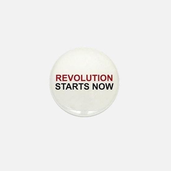 Revolution Starts Now Mini Button