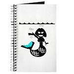 Cute Mermaid Muriel MacBubble Journal