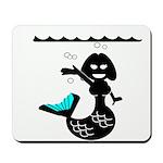 Cute Mermaid Muriel MacBubble Mousepad