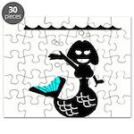 Cute Mermaid Muriel MacBubble Puzzle