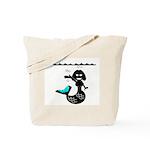 Cute Mermaid Muriel MacBubble Tote Bag