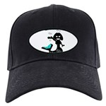 Cute Mermaid Muriel MacBubble Black Cap