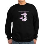 Cute Mermaid Muriel MacBubble Sweatshirt (dark)