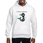 Cute Mermaid Muriel MacBubble Hooded Sweatshirt