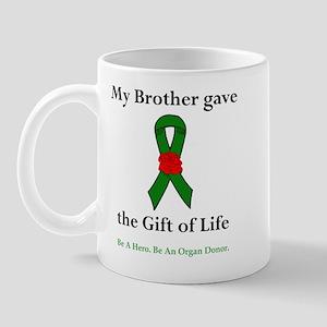 Brother Donor Mug