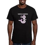 Cute Mermaid Muriel MacBubble Men's Fitted T-Shirt