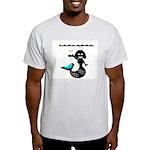Cute Mermaid Muriel MacBubble Light T-Shirt