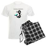 Cute Mermaid Muriel MacBubble Men's Light Pajamas
