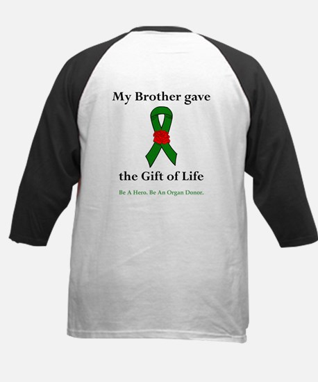 Brother Donor Kids Baseball Jersey
