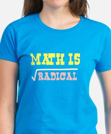 Math is Radical Women's Dark T-Shirt