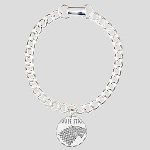 House Stark blk Bracelet