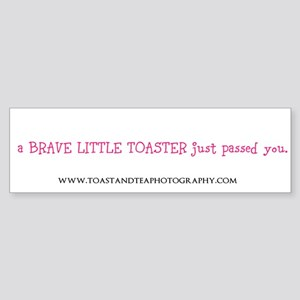 toaster passing you Bumper Sticker