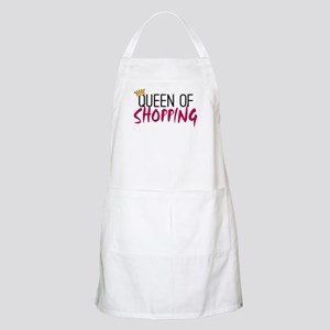 'Queen of Shopping' Apron