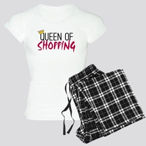 'Queen of Shopping' Women's Light Pajamas