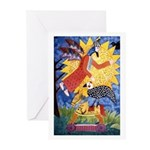 Un angel Greeting Cards (Pk of 10)