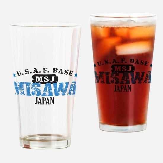 Misawa Air Force Base Drinking Glass