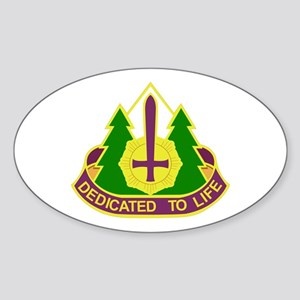 DUI - 47th Combat Support Hospital Sticker (Oval)