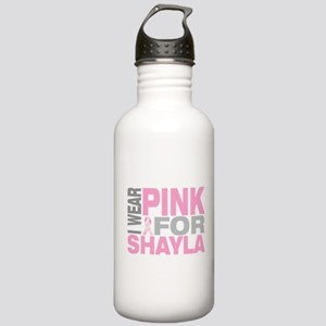 I wear pink for Shayla Stainless Water Bottle 1.0L