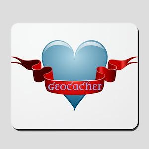 Geocacher Ribbon Mousepad