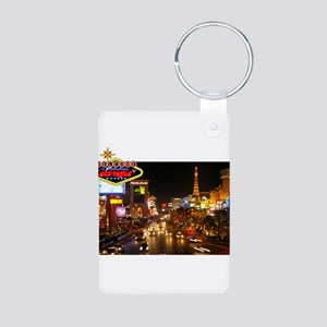 WMV Strip Aluminum Photo Keychain