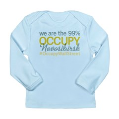 Occupy Novosibirsk Long Sleeve Infant T-Shirt