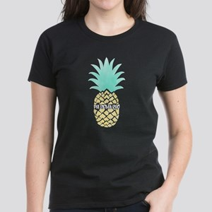 Phi Sigma Rho Pineapple Women's Dark T-Shirt