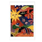 El sol y el armadillo Postcards (Package of 8)
