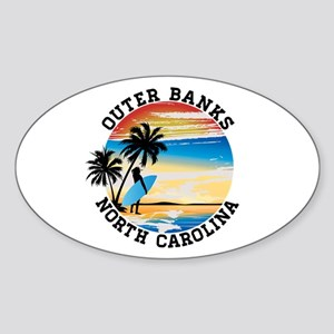 Surfing OUTER BANKS NORTH CAROLINA Surf Su Sticker
