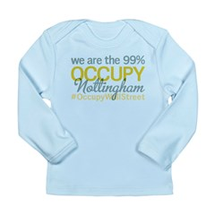 Occupy Nottingham Long Sleeve Infant T-Shirt