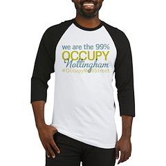 Occupy Nottingham Baseball Jersey