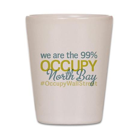Occupy North Bay Shot Glass