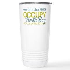 Occupy North Bay Stainless Steel Travel Mug