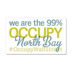 Occupy North Bay Car Magnet 20 x 12