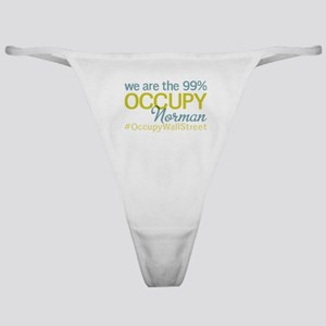 Occupy Norman Classic Thong
